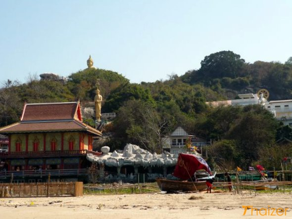 Khao Tao temples and Buddha images