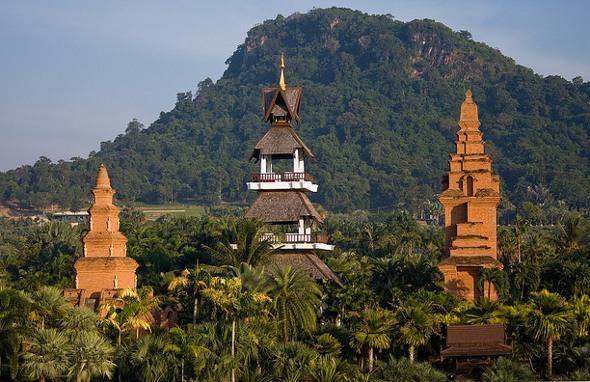 Nong Nooch tropical gardens near Pattaya