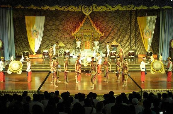 Thai cultural show at Nong Nooch, Pattaya