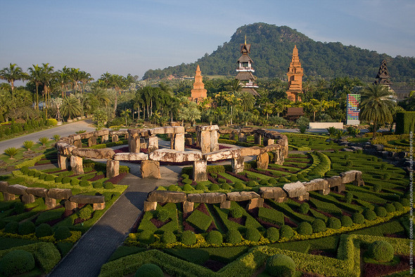 Nong Nooch tropical gardens near Pattaya