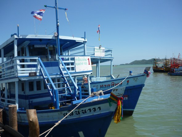boats to Ko Samet from Ban Phe