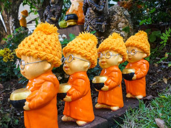 The mini-monks of Doi Suthep, Chiang Mai