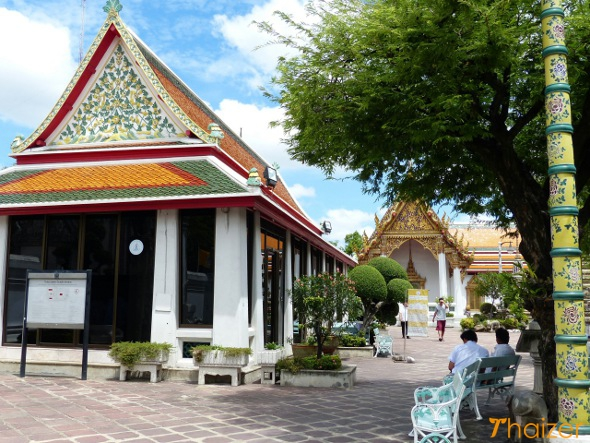 Massage pavilion at Wat Pho