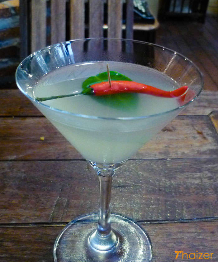 Thailand in a glass - Vodka tom yum cocktail