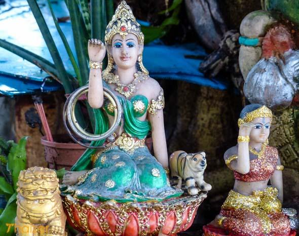 Mae nang kwak figure in Thailand