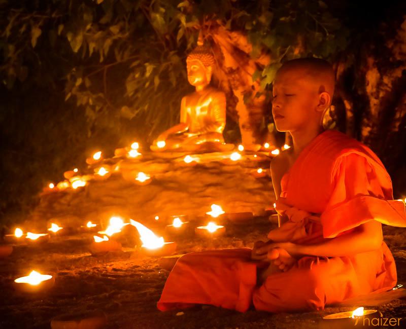 Asahna Bucha Day, Thailand