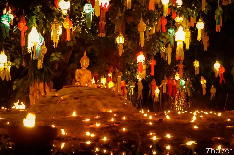 lanterns lights loy krathong