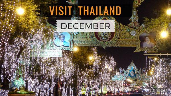 Visit Thailand in December