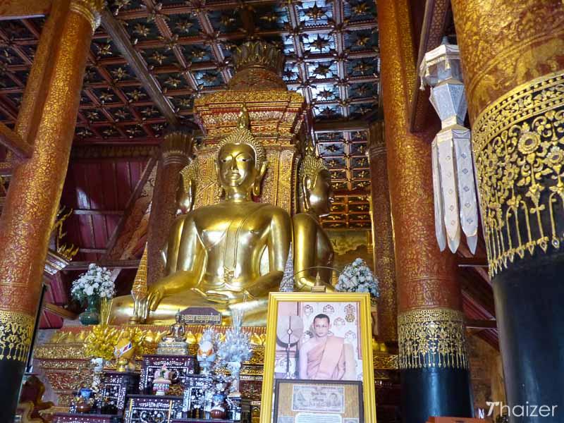 Buddha images at Wat Phumin