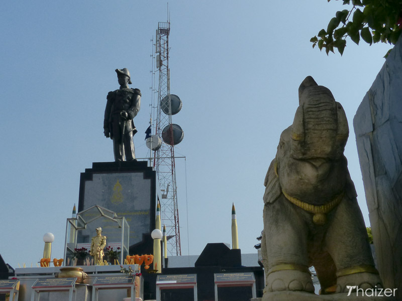 monument to the Father of the  Royal Thai Navy