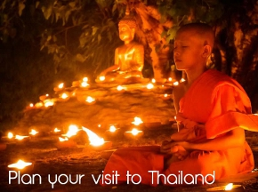 plan your visit to Thailand