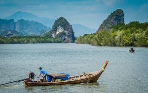 Khao Khanap Nam, Krabi, Thailand