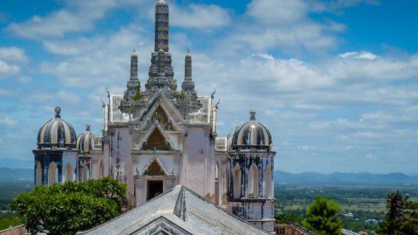 Royal palace at Phetchaburi