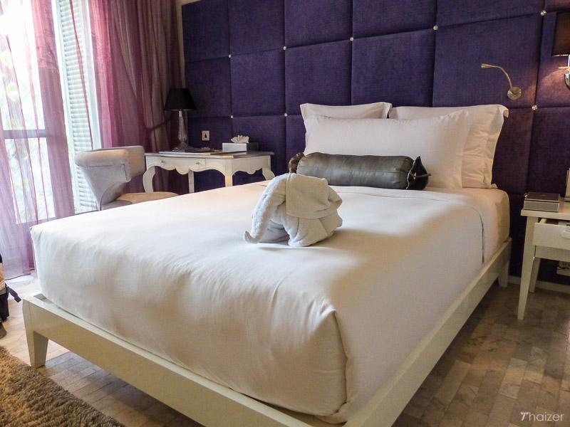 twin room at Bangkok's Hua Chang Heritage Hotel