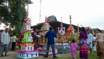 Chong Para Ceremony and Festival, Mae Hong Son