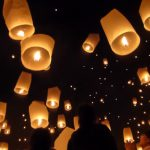 Chiang Mai Sky Lantern Release at Mae Jo, 2015