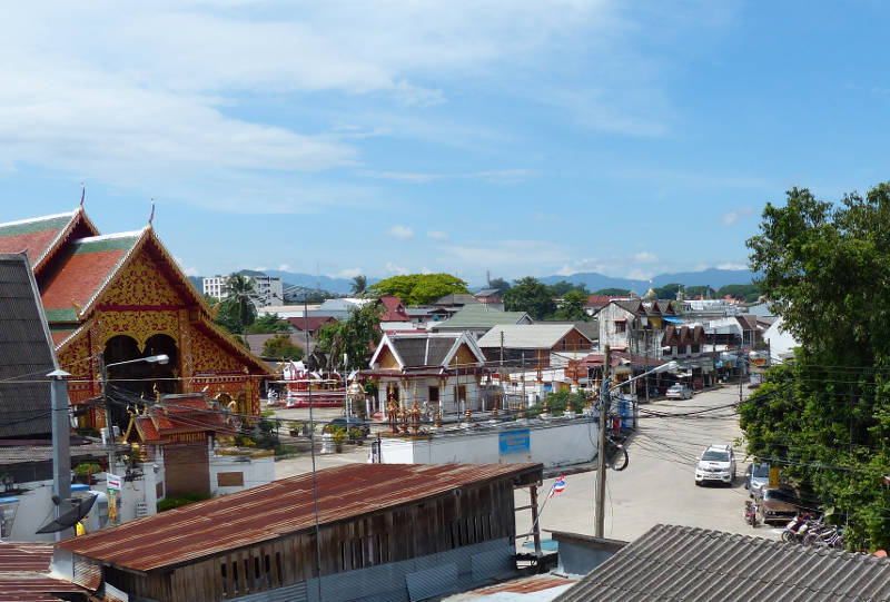 clear day in Chiang Rai