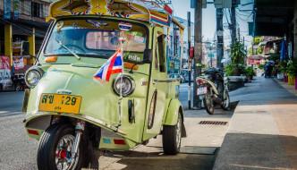 Trang town tuk-tuk