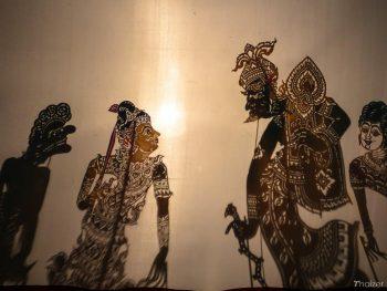 Nakhon Si Thammarat shadow puppets