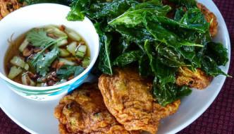 Thai fishcakes (thod mun pla)