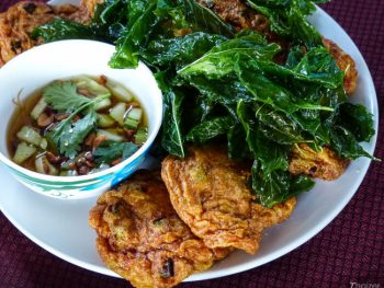Thai fishcakes (thod mun pla)