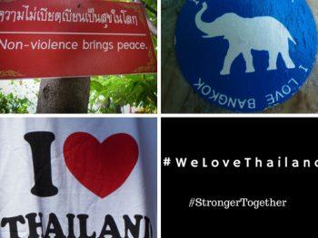 We love Thailand. Stronger together.