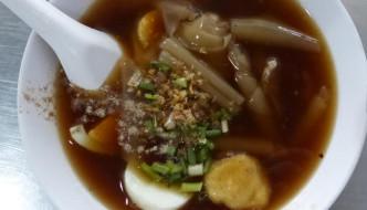 kuay jab Thai noodle soup
