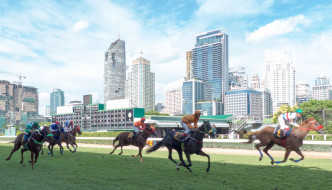 horse racing at Royal Bangkok Sports Club in the heart of Bangkok