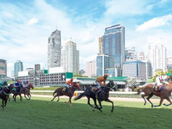 horse racing at Royal Bangkok Sports Club in the heart of Bangkok