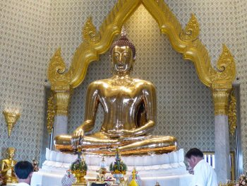 Golden Buddha at Wat Traimit, Bangkok