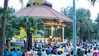 Concert in the Park by Bangkok Symphony Orchestra at Lumphini Park, Bangkok