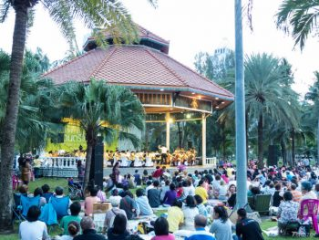 Concert in the Park by Bangkok Symphony Orchestra at Lumphini Park, Bangkok