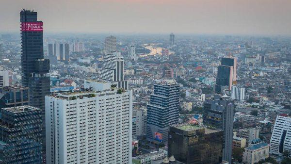 Cloud 47 rooftop bar, Bangkok