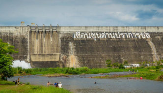 Nakhon Nayok dam