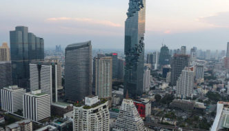 The tallest building in Thailand: MahaNakhon, Bangkok