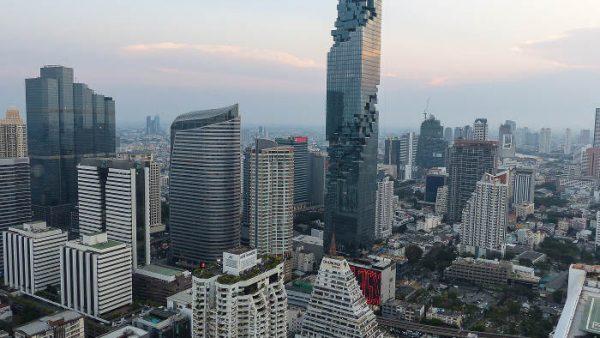 The tallest building in Thailand: MahaNakhon, Bangkok