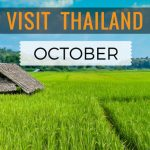 Visiting Thailand in October