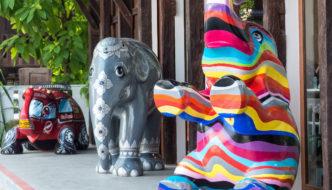 Elephant Parade Returning Home to Chiang Mai