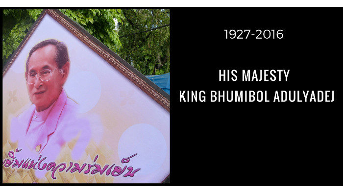 Thailand Mourns Death of the King