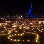 Celebrating Loy Krathong in Sukhothai