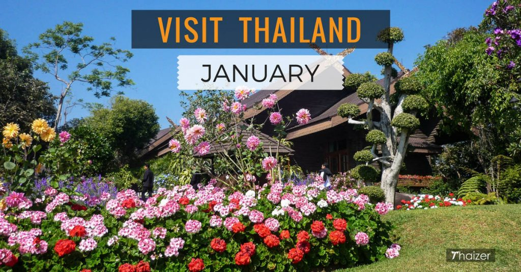 visiting Thailand in January