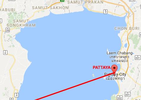 ferry service between Hua Hin and Pattaya