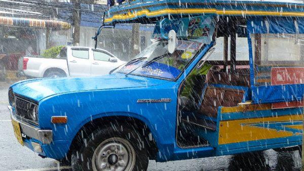 heavy rain in Phang Nga