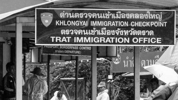 Thailand land border crossing visa exemption rules