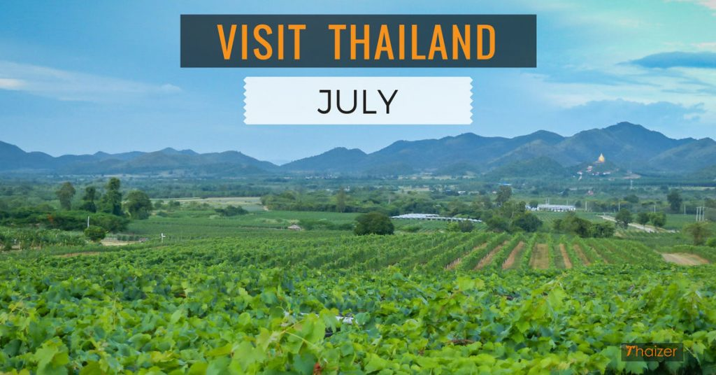 Visit Thailand in July