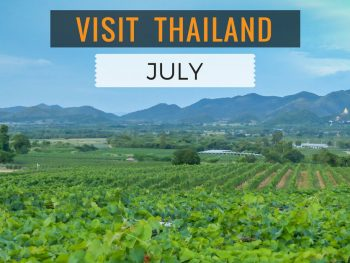 Visit Thailand in July