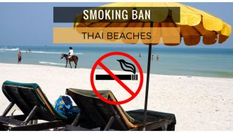 smoking ban on Thailand beaches