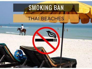 smoking ban on Thailand beaches