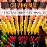 Schedule for the Chiang Mai Yi Peng Lantern Festival, 2017
