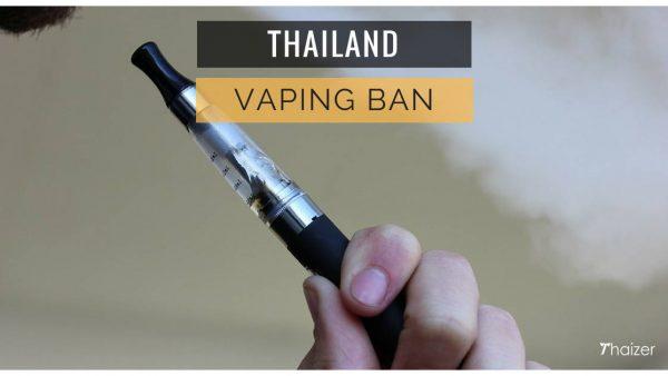 Thailand vaping ban
